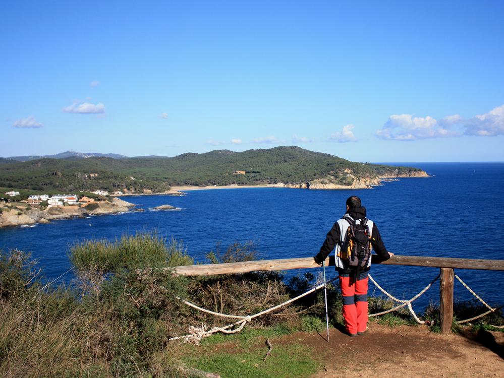 Aussichten und Landschaften des Camí de Ronda
