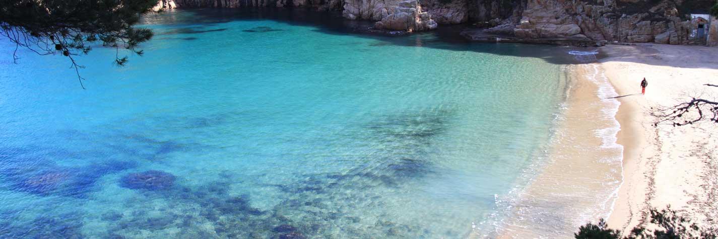 Playa de Aiguablava – Begur – Invierno 2014