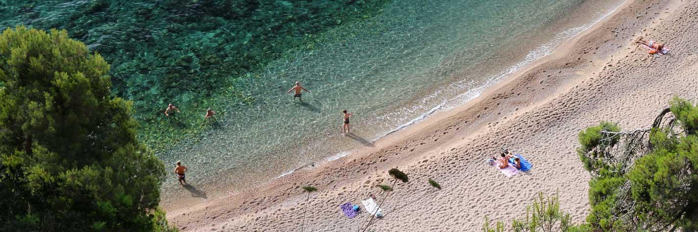 Cala del Cau Tuixò o del Golfet - Calella de Palafrugell - Verano 2015