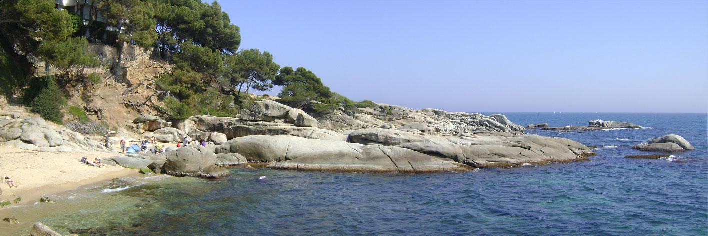 Playa de Roques Planes – St. Antoni de Calonge – Primavera 2012